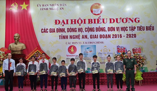 Nghệ An: 5 năm Hội Khuyến học huy động được trên 315 tỷ đồng - 5