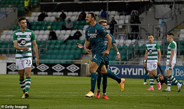Ibrahimovic ghi bàn giúp AC Milan đi tiếp ở Europa League - 4