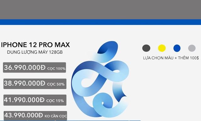 iPhone 12 Pro Max giá trên trời hơn 100 triệu sẽ vẫn có người mua - 2