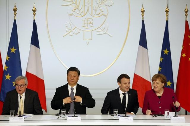 """Châu Âu """"để mắt"""" tham vọng bành trướng của Trung Quốc tại Biển Đông - 3"""