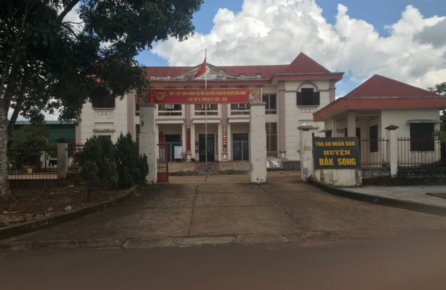 Đắk Nông: Đem vụ án ra xử lén, Tòa án huyện bao biện như thế nào? - 2