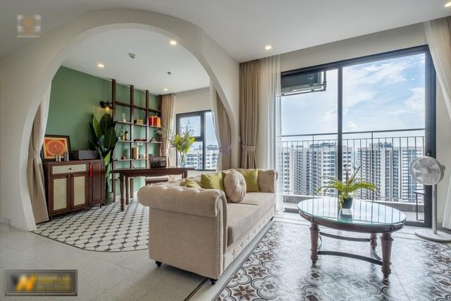 Mê mẩn với căn hộ 74m² mang phong cách Đông Dương - 1