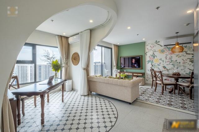 Mê mẩn với căn hộ 74m² mang phong cách Đông Dương - 5