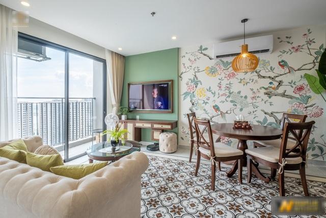Mê mẩn với căn hộ 74m² mang phong cách Đông Dương - 10