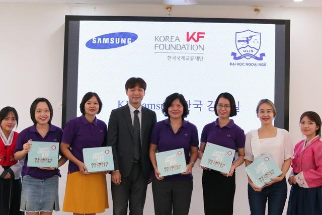 ĐH Ngoại ngữ - ĐHQGHN khánh thành phòng học do đối tác Hàn Quốc tài trợ - 2