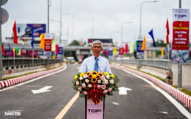 TPHCM khánh thành nút giao thông 3 tầng ở cửa ngõ Tây Bắc - 13