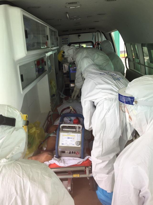 Chuyển bệnh nhân 416 về Bệnh viện Đà Nẵng - 1