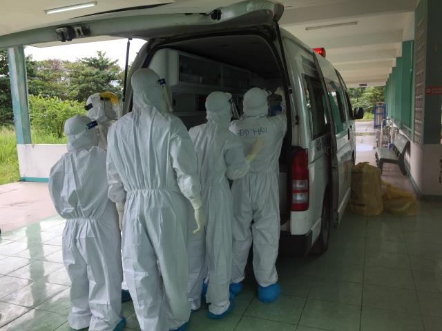 Chuyển bệnh nhân 416 về Bệnh viện Đà Nẵng - 2