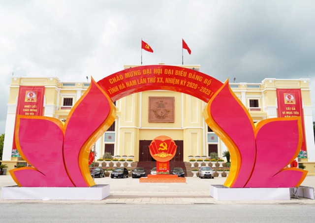 Hà Nam khai mạc Đại hội đại biểu Đảng bộ tỉnh lần thứ XX - 1
