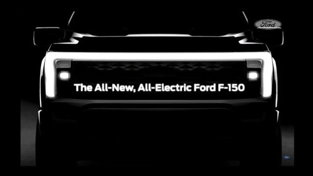 Ford gây bất ngờ với hình ảnh nhá hàng F-150 phiên bản chạy điện - 1
