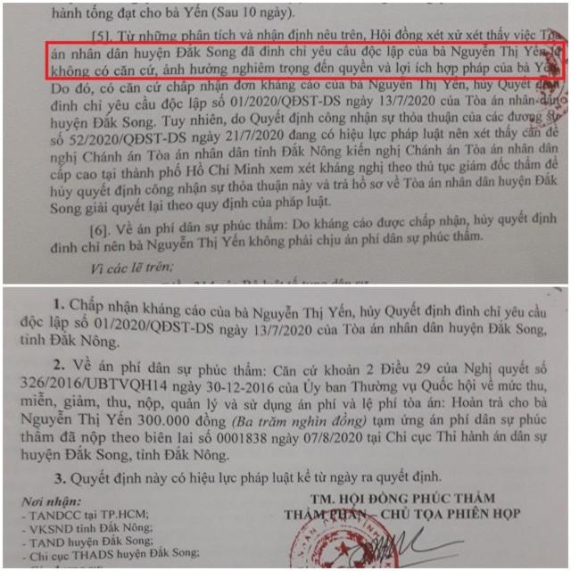 Vụ tòa bất ngờ xử lén tại Đắk Nông: Vi phạm tố tụng nghiêm trọng! - 1