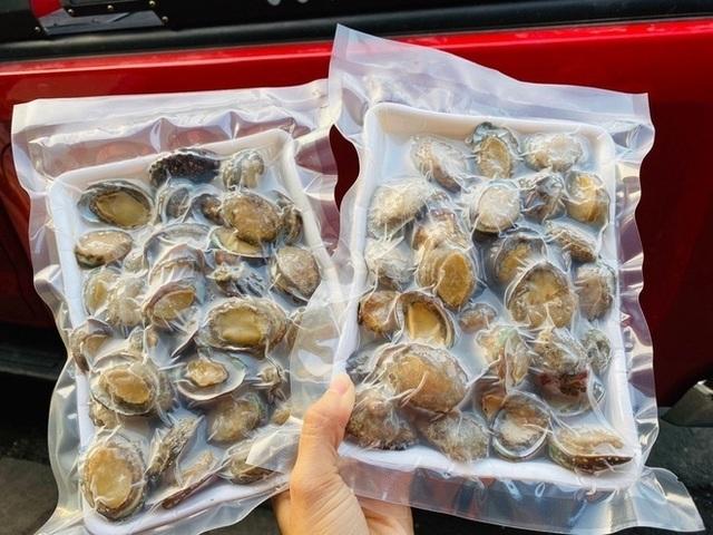 Bào ngư đông lạnh Trung Quốc gắn mác đồ Hàn bán cho dân Việt - 1
