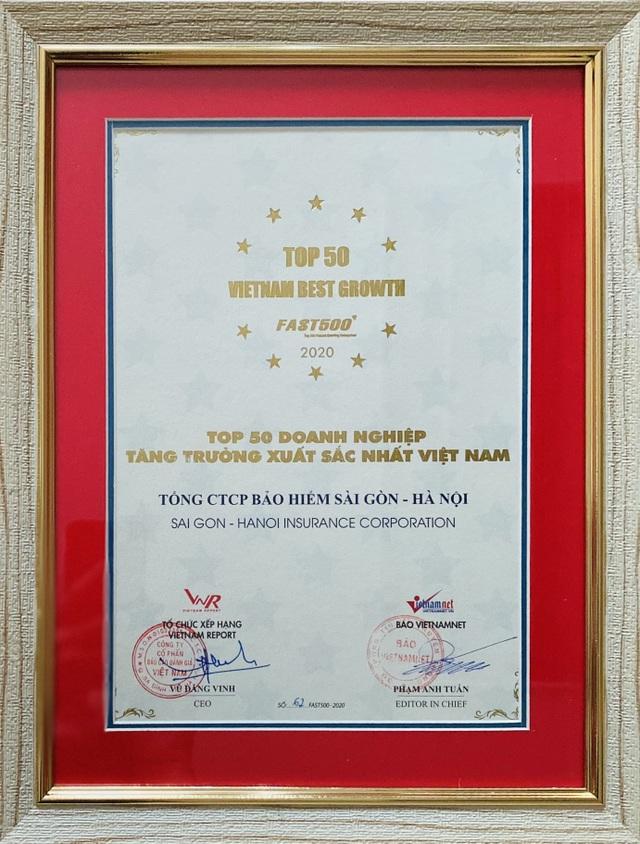 BSH lọt Top 50 doanh nghiệp tăng trưởng xuất sắc nhất Việt Nam - 1