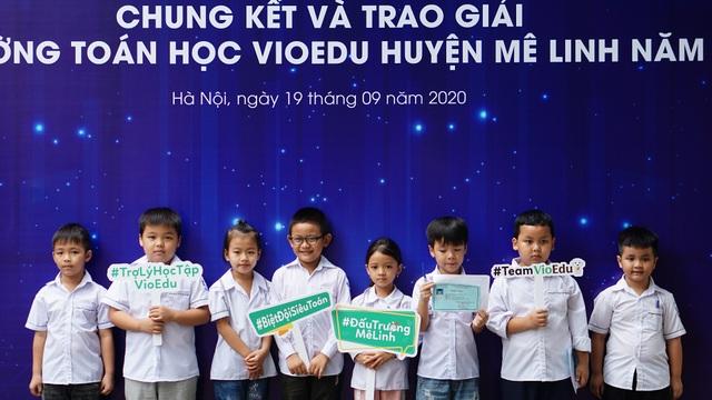 700 học sinh huyện Mê Linh (Hà Nội) lần đầu tranh tài Đấu trường toán học - 2