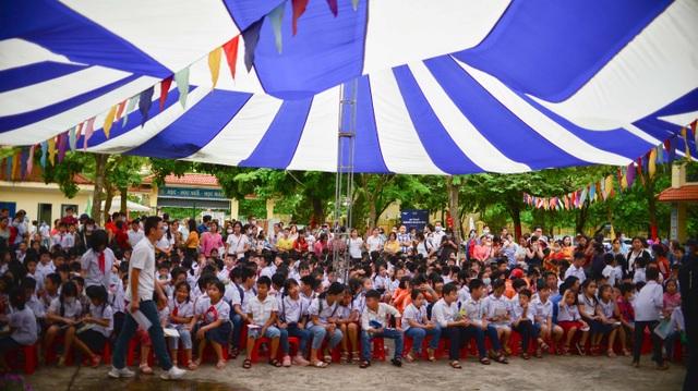 700 học sinh huyện Mê Linh (Hà Nội) lần đầu tranh tài Đấu trường toán học - 1