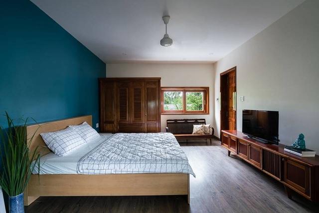 Ngôi nhà đẹp như resort con trai xây tặng bố mẹ giữa đồng quê ở Bình Định - 13