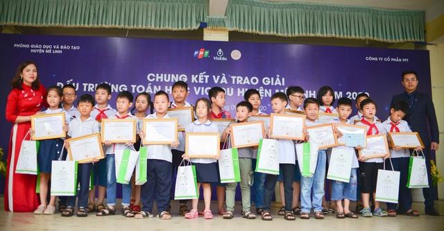 700 học sinh huyện Mê Linh (Hà Nội) lần đầu tranh tài Đấu trường toán học - 3