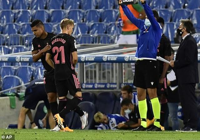 Real Madrid hòa thất vọng ở trận mở màn La Liga - 5