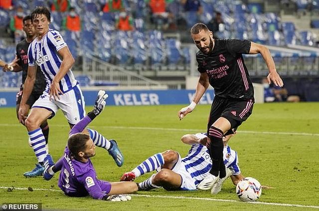 Real Madrid hòa thất vọng ở trận mở màn La Liga - 2