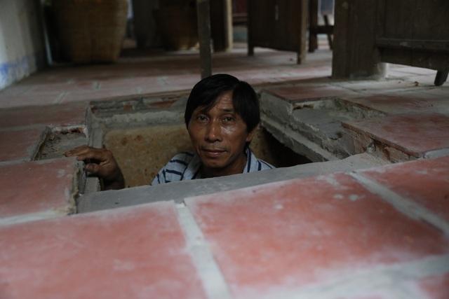 Bí ẩn căn hầm nuôi giấu cán bộ đào trong nhà dân - 2