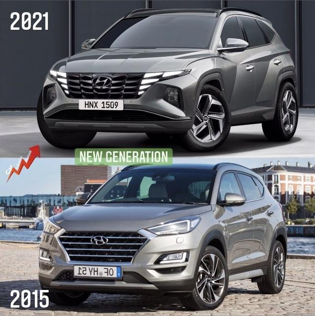 So sánh Hyundai Tucson 2021 với xe đang bán tại Việt Nam: lột xác toàn diện - 1
