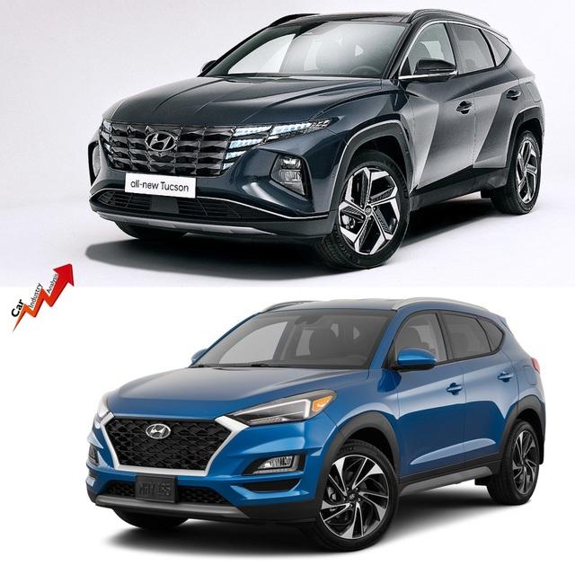 So sánh Hyundai Tucson 2021 với xe đang bán tại Việt Nam: lột xác toàn diện - 11