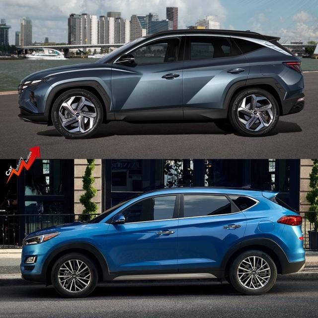 So sánh Hyundai Tucson 2021 với xe đang bán tại Việt Nam: lột xác toàn diện - 4