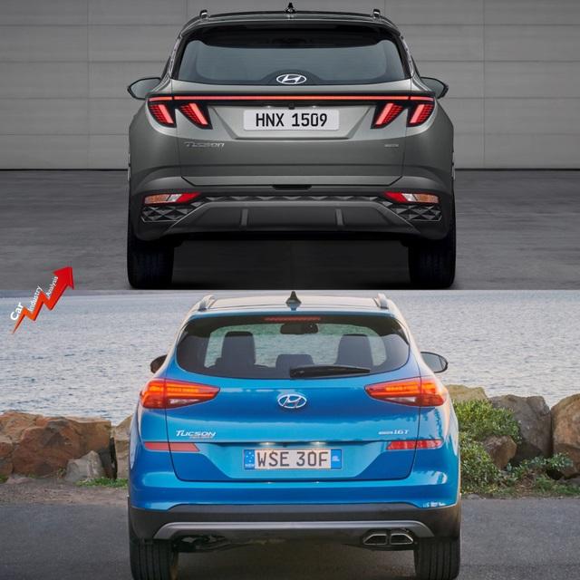 So sánh Hyundai Tucson 2021 với xe đang bán tại Việt Nam: lột xác toàn diện - 5