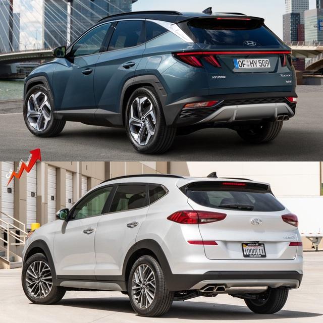So sánh Hyundai Tucson 2021 với xe đang bán tại Việt Nam: lột xác toàn diện - 6