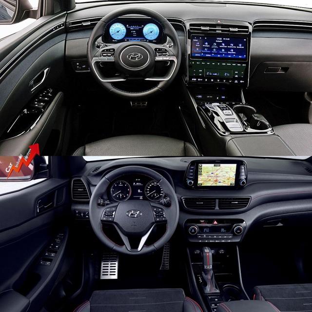So sánh Hyundai Tucson 2021 với xe đang bán tại Việt Nam: lột xác toàn diện - 7