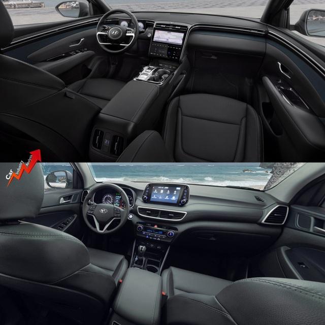 So sánh Hyundai Tucson 2021 với xe đang bán tại Việt Nam: lột xác toàn diện - 8