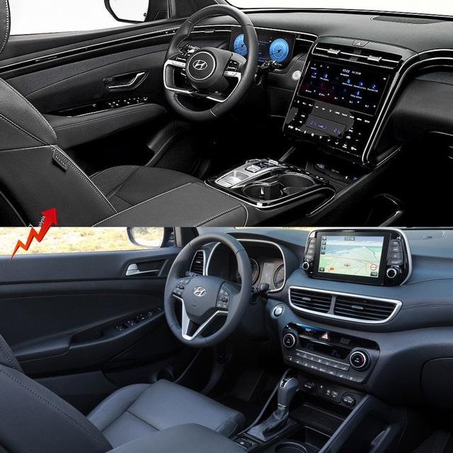 So sánh Hyundai Tucson 2021 với xe đang bán tại Việt Nam: lột xác toàn diện - 9