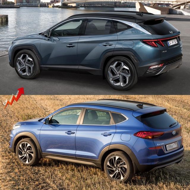 So sánh Hyundai Tucson 2021 với xe đang bán tại Việt Nam: lột xác toàn diện - 10