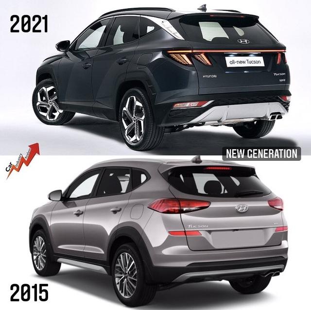 So sánh Hyundai Tucson 2021 với xe đang bán tại Việt Nam: lột xác toàn diện - 12