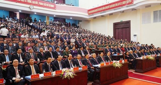 Bế mạc Đại hội đại biểu Đảng bộ tỉnh Hà Nam lần thứ XX - 1