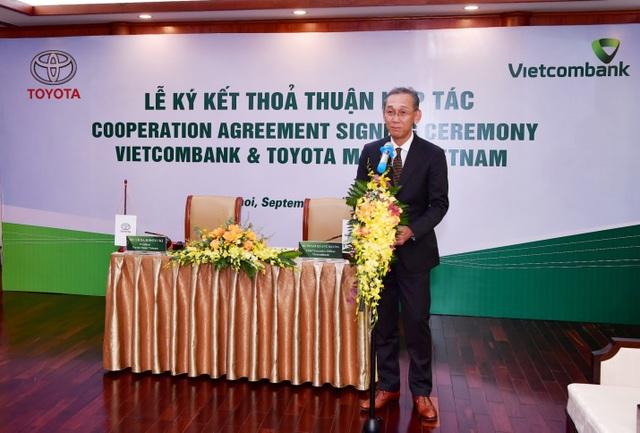 Vietcombank và Toyota Motor Việt Nam ký kết thỏa thuận hợp tác - 3