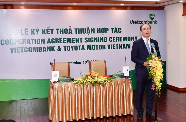 Vietcombank và Toyota Motor Việt Nam ký kết thỏa thuận hợp tác - 4
