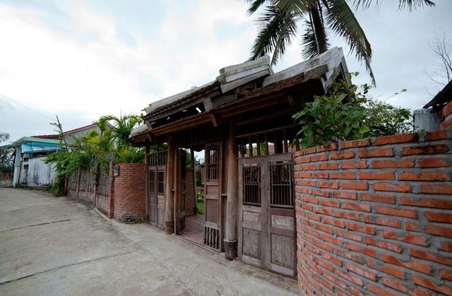 Nhà cổ 3 gian kiểu Bắc Bộ ở Nam Định được vận chuyển hơn 700km vào Hội An - 3