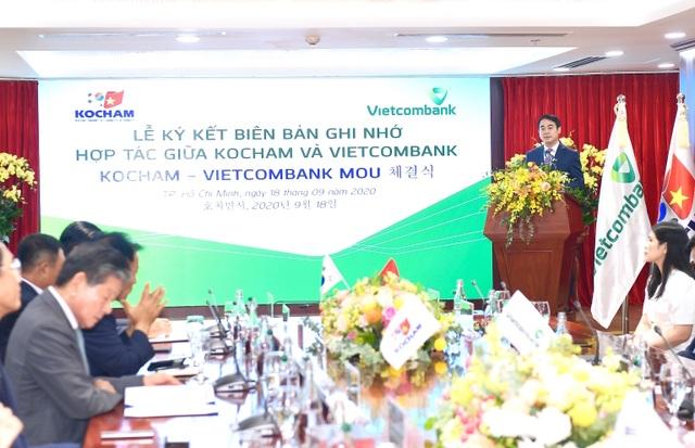 Lễ ký kết Biên bản ghi nhớ hợp tác giữa Vietcombank và Kocham - 1