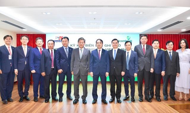 Lễ ký kết Biên bản ghi nhớ hợp tác giữa Vietcombank và Kocham - 3