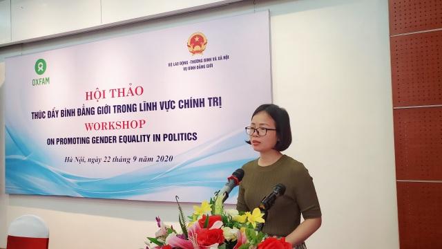 Việt Nam hiện có 3 uỷ viên Bộ Chính trị và Chủ tịch Quốc hội là nữ giới - 2