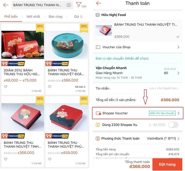 Mua bánh Trung thu thời công nghệ: Mua hàng online - nhận hàng tận nhà - 7