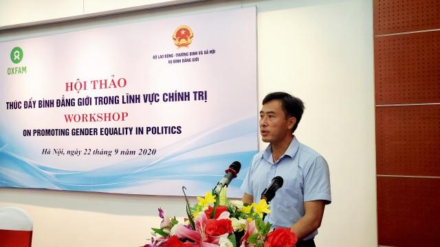 Việt Nam hiện có 3 uỷ viên Bộ Chính trị và Chủ tịch Quốc hội là nữ giới - 3