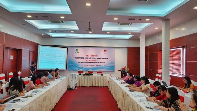 Việt Nam hiện có 3 uỷ viên Bộ Chính trị và Chủ tịch Quốc hội là nữ giới - 1