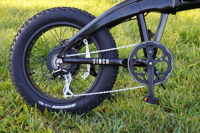 Aventon Sinch - Độc đáo xe đạp điện có thể gấp gọn - 10