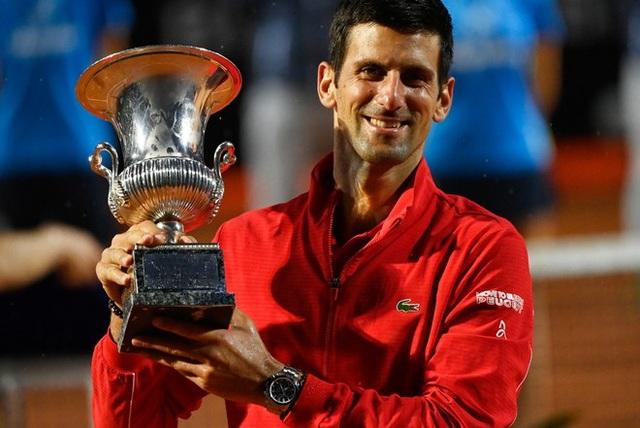 Hiệu suất khủng khiếp của Djokovic ở khả năng thâu tóm danh hiệu - 1