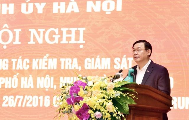 Bí thư Hà Nội: Đảng bộ TP không khoan nhượng với tiêu cực, tham nhũng - 1