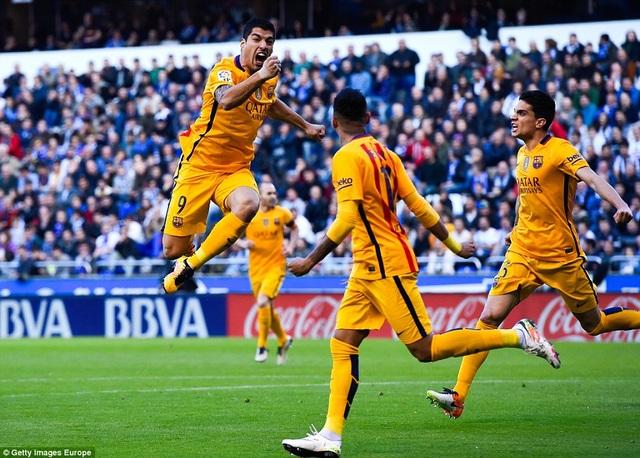 Những khoảnh khắc đáng nhớ của Luis Suarez cùng Barcelona - 3