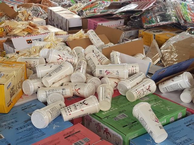 Ninh Bình tiêu hủy số lượng lớn hàng hóa nhập lậu, không rõ nguồn gốc - 3