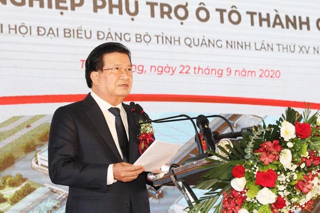 Phó Thủ tướng bấm nút động thổ xây dựng tổ hợp công nghiệp phụ trợ ô tô - 2